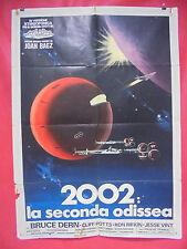 1361 manifesto 2 fogli: 2002 LA SECONDA ODISSEA