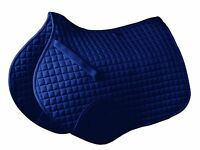 Roma Mini Quilt Shaped Saddle Pad with High Withers and Extended Girth Panel