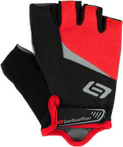Bellwether Ergo Gel Fingerless Gloves | Ferrari | XL
