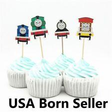 12 Pieces Cupcake Topper Cake Picks THOMAS the TANK ENGINE FRIENDS