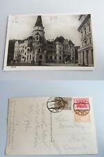AK CELJE / CILLI, gelaufen 1930 n. Graz; Platz mit Hotel / Z.L. Lager-Neckermann