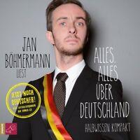 JAN BÖHMERMANN - ALLES,ALLES ÜBER DEUTSCHLAND (BONUS EDITION) 3 CD NEU