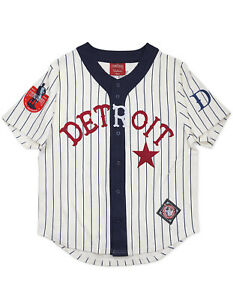 DETROIT STARS  NEGRO LEAGUE BASEBALL JERSEY Vintage collection Jersey