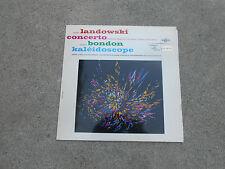 LANDOWSKI-CONCERTO-BONDON KALEIDOSCOPE-LORIOD-ONDES MARTENOT-LP-ERATO 50254-NM