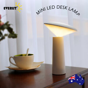 LED Bedside Night Light Desk Table Mood Study Lamp Touch Dimmable USB Mini Lamps