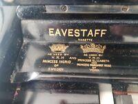 EAVESTAFF PIANETTE MINI PIANO - ART DECO WITH CHAIR. Price drop quick sale.