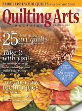 Quilting Arts Magazine June/July 2015 (Originally £5.50)