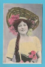 ACTRESS  -  VALENTINES  POSTCARD  -  MISS  RUTH  VINCENT   ( B )