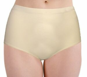 BODYFIT HIGHWAISTED SEAMLESS NO VPL BRIEF /PANTY/KNICKERS WHITE OR SKIN NUDE