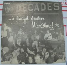 """Very Rare THE DECADES - ...in beautiful downtown Miamisburg! 12"""" LP - QCA 30424"""