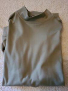 Men's FootJoy Long Sleeve Mock Neck Golf Shirt Size LG