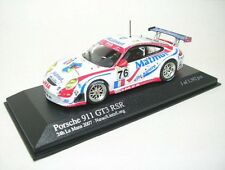 Porsche 911 GT3 RSR N° 76 Du Mans 2007