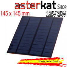 Panel Solar 12V 3W DIY Placa Prototipos arduino placa 145x145 Energia celula