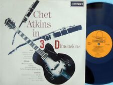 Chet Atkins in 3 Dimensions UK Reissue LP VG+ Stetson Country Pop