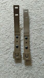 2x Tactical Tailor MOLLE Short Coyote MALICE Clips, Kydex Holster Belt Loops NEW