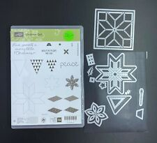 Stampin Up® Retired Holiday Photopolymer and Rubber Bundles with Dies