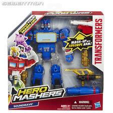 Transformers Hero Mashers Decepticon SOUNDWAVE Mash-Up Hasbro 2014 NEW