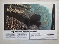 3/1990 PUB ALCATEL ESPACE CNES ESA SPOT 2 REMOTE SENSING SATELLITE ORIGINAL AD