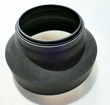 58mm Rubber Lens Hood Shade double threaded Telephoto 200mm 300mm 80-200mm