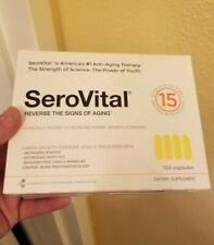 Serovital-hgh 120 Capsules  SEALED NEW, Defy Aging GUARANTEED FRESH Exp 10/2022