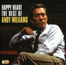 ANDY WILLIAMS Happy Heart The Best Of (Gold Series) 2CD BRAND NEW