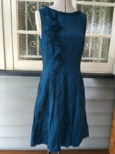 Cue teal dress size 12