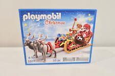 New Playmobil Christmas 5977 Santa & Sleigh Reindeer Nib