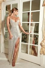 Meshki Glamorous Rose Gold sequin evening Dress-BRAND NEW W TAGS
