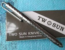 New TwoSun EDC Full TC4 Titanium Alloy Tactical Office Pocket Pen TS-Pen04