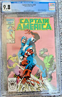 Captain Amercia #324 CGC 9.8 Mike Zeck Cover 1st Slug Marvel Comics 1986