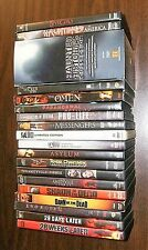 Lot Horror DVD's Dawn of the Dead Chainsaw Massacre Saw Halloween Special More!