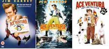 ACE VENTURA PET DETECTIVE Trilogy Complete DVD Part 1+2+3 WHEN NATURE CALLS JR