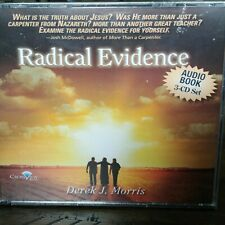 Radical Evidence Audio Book Derek J Morris 3 CD Set Christian Author New Sealed