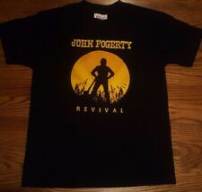 Kid's John Fogerty Rivival Tour shirt CCR Classic Rock Youth S (6-8) Creedence