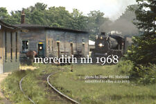 Boston & Maine RR   Meredith NH  Canadian Pacific Rwy 1278   1968