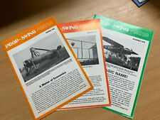 "3 x 1979-1980 ""PROP SWING"" NEWSLETTERS OF SHUTTLEWORTH VETERAN AEROPLANE SOCIETY"