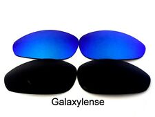 Galaxy Replacement Lenses For Oakley Straight Jacket Black&Blue Polarized (1999)