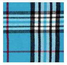New Winter Warm 100% Cashmere Feel Plaid Wraps Scarves Blue