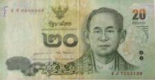 Thailand 20 Baht 4J 7203139