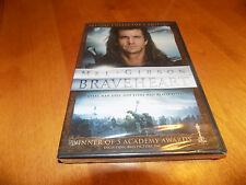 Braveheart Mel Gibson Academy Award 2-Disc Special Collector's Edition Dvd New