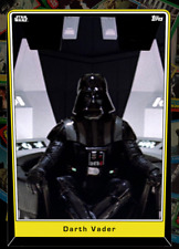 Topps Star Wars Card Trader Darth Vader Series 5 HERITAGE Base [DIGITAL] 77cc