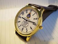 HMS Ark Royal Aircraft Carrier (R07) Royal Navy Style Wrist Watch.