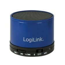 Bluetooth Lautsprecher Box Speaker MP3 Player microSD Freisprechen Micro Blau
