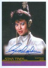 "CYNTHIA GOUW ""CAITHLIN DAR AUTOGRAPH CARD A25"" COMPLETE STAR TREK MOVIES"