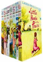 Little House on the Prairie 7 Book Pack Lara Ingalls Wilder Big Woods Town New