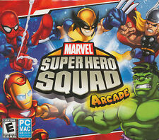 Marvel Super Hero Squad Arcade - 4x Superhero PC Games for Windows & Mac - NEW!