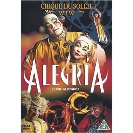 Cirque Du Soleil: Alegria (Filmed Live In Sydney) Dvd New Factory Sealed (1999)