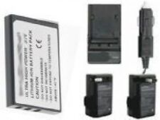 Battery + Charger f/ Aiptek Z300HDV AHDC100 AHDH125