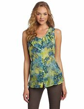 NWT Pendleton Women's Petite Poolside Print Blouse Below $108 Retail-SOLD OUT!