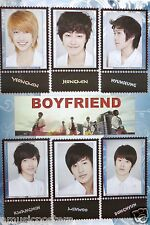 """BOYFRIEND """"FACES ABOVE NAMES"""" POSTER FROM ASIA - Korean Boy Band, K-Pop Music"""